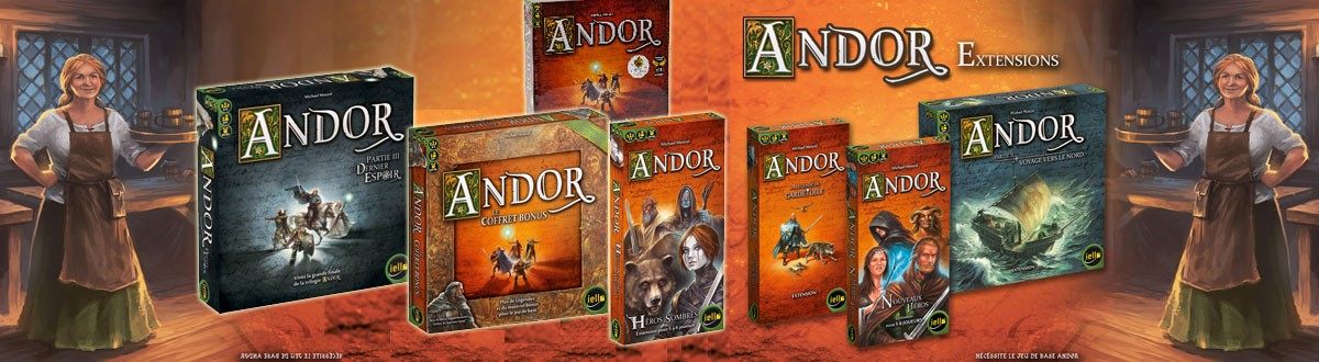 Andor - Le Coffret Bonus ( Extension )