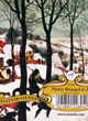 Coffret Bridge - Bruegel Hunters In Snow 2x Jeux De 55 Cartes - ref.4970