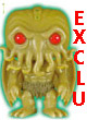 Books Pop Figurine Vinyl Exclu Cthulhu Glow In The Dark - ref.5967