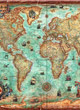 Heye Puzzle 3000 Pièces : The World (le Monde) + Poster - ref.6335
