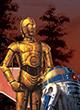 Star Wars Assaut Sur L'empire - R2-d2 Et C3po - ref.6521