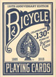 Jeu De 54 Cartes Bicycle 130th Anniversary Edition Blue - ref.6832