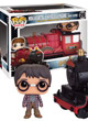Rides Pop Figurine Hogwarts Express Engine With Harry - ref.6846