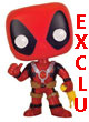 Marvel Pop Figurine Vinyl Deadpool With Chicken Exclu - ref.7149