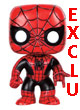 Marvel Pop Figurine Vinyl Spiderman Exclu - ref.7243