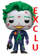 Heroes Figurine Pop Vinyl ( Bombshells ) The Joker With Kisses Exclu - ref.7799