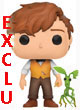Movie Figurine Pop ( Les Animaux Fantastiques ) Newt Scamander & Pickett Exclu - ref.7806