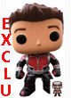 Marvel Pop Figurine ( Ant-man ) Ant-man Unmasked With Mini Ant-man Mcc Exclu  - ref.7819