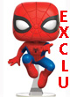 Marvel Pop Figurine Spiderman Jump Mcc Exclu - ref.7822