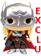 Marvel Secret Wars Pop Figurine Vinyl Lady Thor Mcc Exclu - ref.7825