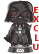 Star Wars Pop Figurine (rogue One) Darth Vader Choking Grip Exclu  - ref.7829