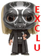 Harry Potter Pop Figurine Lucius Malfoy Death Eater Mask Exclu  - ref.7863