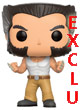 Marvel Pop Figurine Vinyl ( X-men ) Logan En Débardeur Exclu - ref.8100