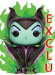 Disney Pop Figurine Maleficent In Green Flame Exclu - ref.8697