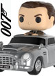 James Bond 007 Figurine Pop Rides Sean Connery And Aston Martin Db5 - ref.8733