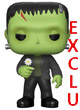 Movie Figurine Pop Vinyl ( Universal Monsters ) Frankenstein With Flower Exclu  - ref.9513