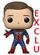 Marvel Pop Figurine ( Avengers Infinity War ) Iron Spider Unmasked Exclu - ref.9517
