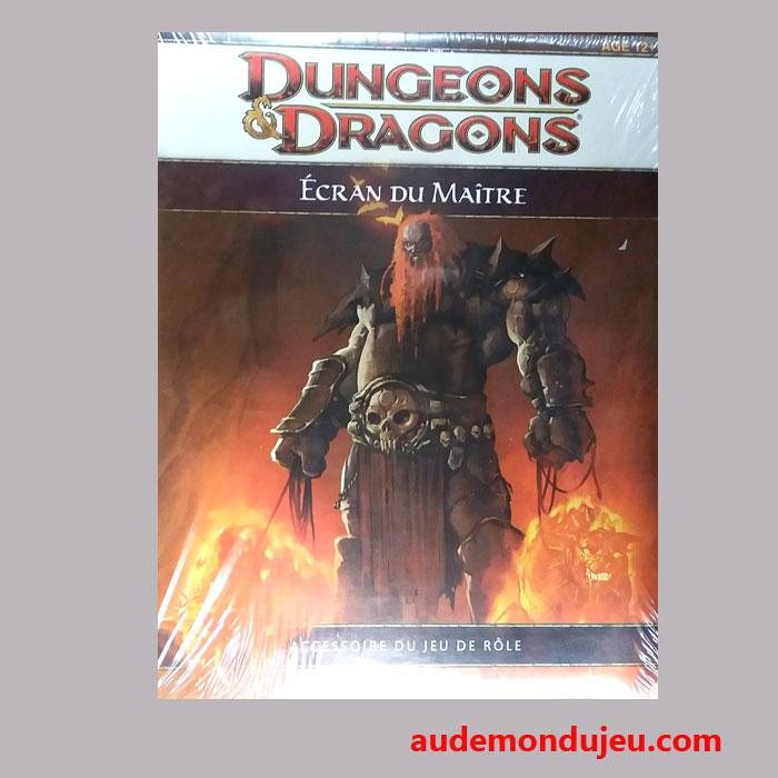 jeux de r le de a m dd4 ecran du ma tre dungeons et dragons 4eme edition vf. Black Bedroom Furniture Sets. Home Design Ideas