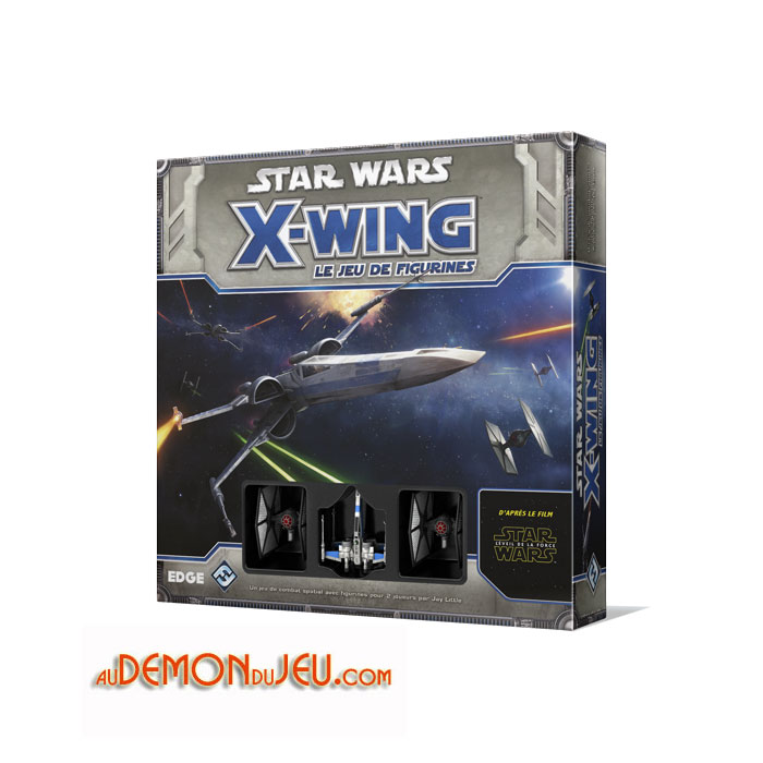 jeux de soci t gamme star wars star wars x wing le jeu de figurines. Black Bedroom Furniture Sets. Home Design Ideas