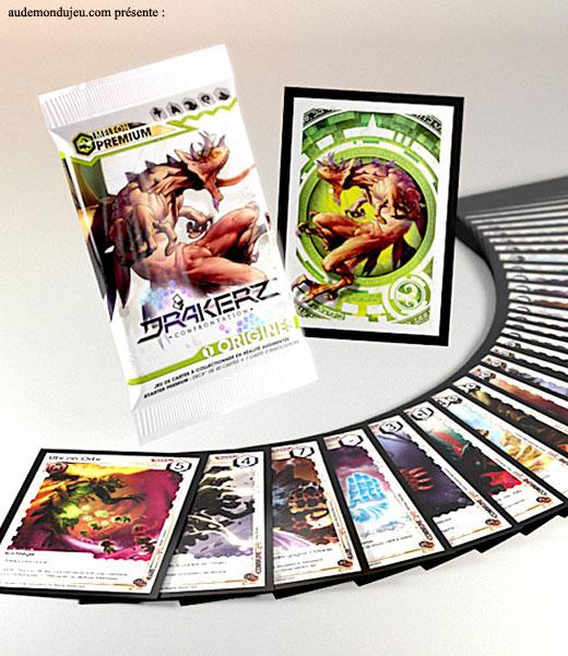 jeux de carte jcc divers drakerz starter premium meleon. Black Bedroom Furniture Sets. Home Design Ideas